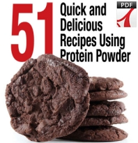 Get the 51 Free Protein Powder Recipes Here