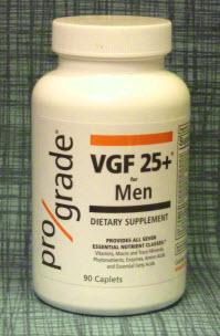 Prograde VGF 25 +Whole Food Vitamins Bottle
